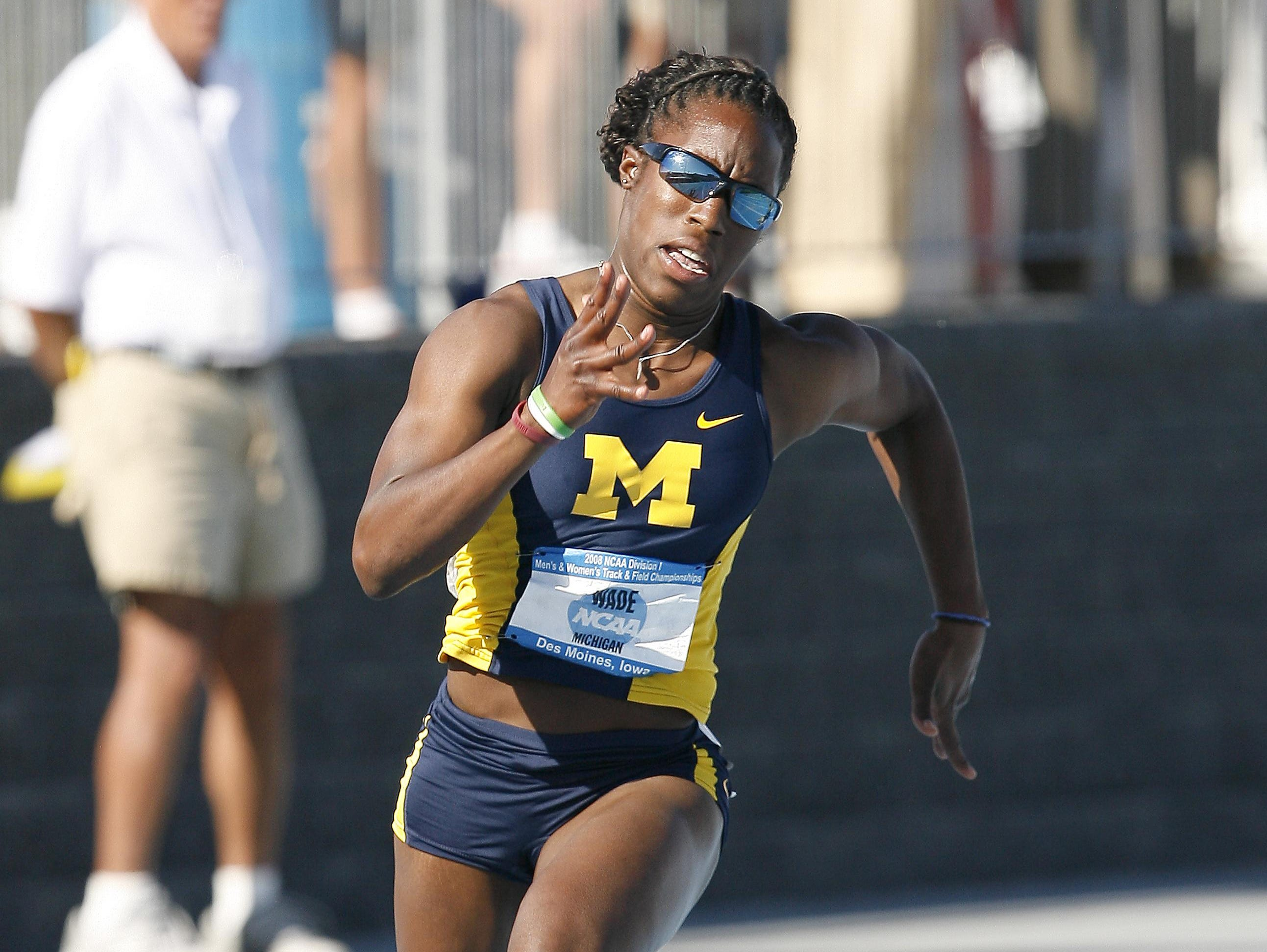 Bettie Wade was a Big Ten champion heptathlete and All-American at Michigan.