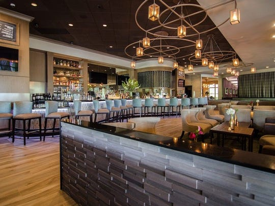 The newly renovated bar and dining room at Shadows