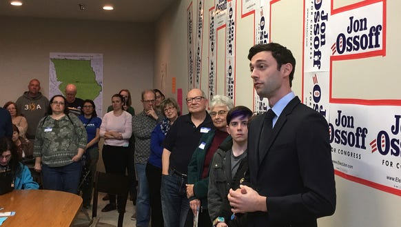 In this March 11 photo, Georgia Democratic congressional
