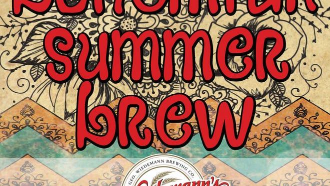 Wiedemann will tap its new summer beer at Mecklenburg Gardens.
