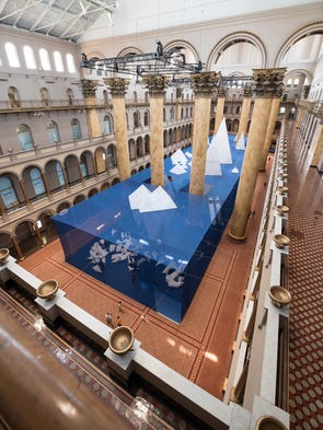 "Explore the ""Icebergs"" exhibit at D.C.'s National Building"