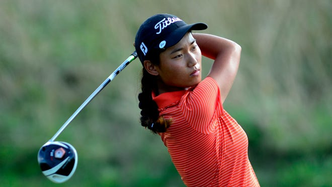 Julianne Lee of Central York shot a 3-under 68 at Hanover Country Club on Wednesday to help lead the Panthers to their third straight Y-A League Division I title.
