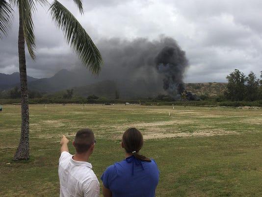 Air Force Station Crash