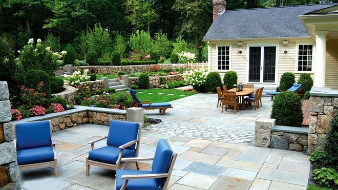Hardscaping can greatly improve the appearance and overall appeal of an outdoor living space.