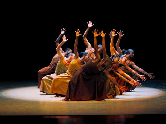 Alvin Ailey American Dance Theater visited the Des