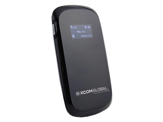 The XCom Global Mobile Hotspot keeps you connected,
