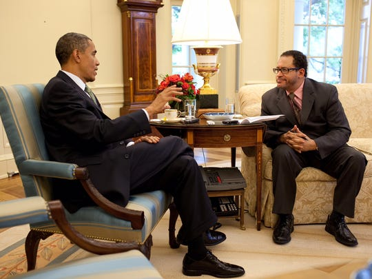 President Barack Obama interview with Michael Eric
