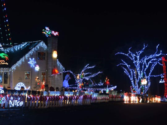 16 Luigi Road, Putnam Valley: The Keeler Christmas Light Display is aglow from 6 p.m. to midnight.