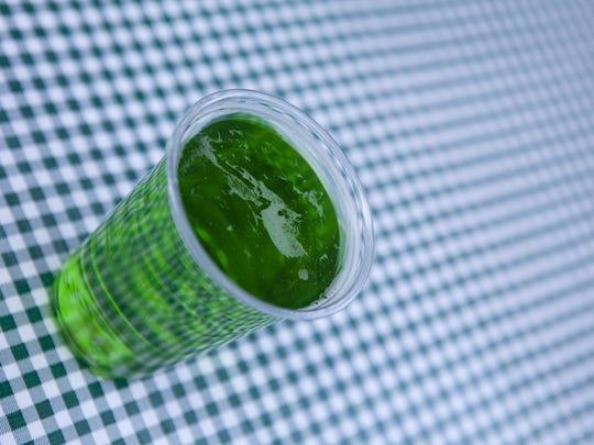 Green beer.