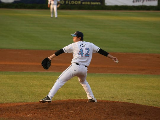 Former St. Cloud Rox player Zach Pop was picked by