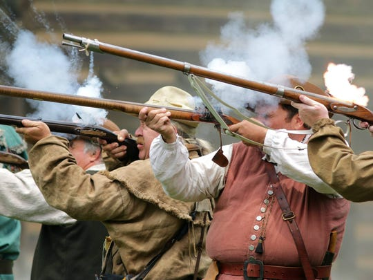 The Washington County Regiment of North Carolina Militia will demonstrate various of types of Revolutionary War-era weaponry at Independence on the Frontier this weekend at Sycamore Shoals State Park in Elizabethton.
