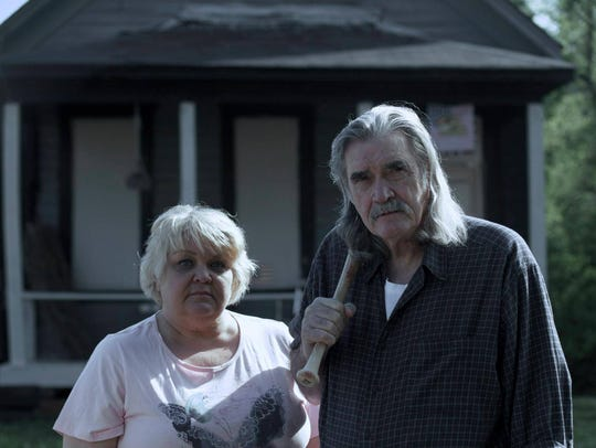 Oxford residents Johnny and Susan McPhail in a promotional