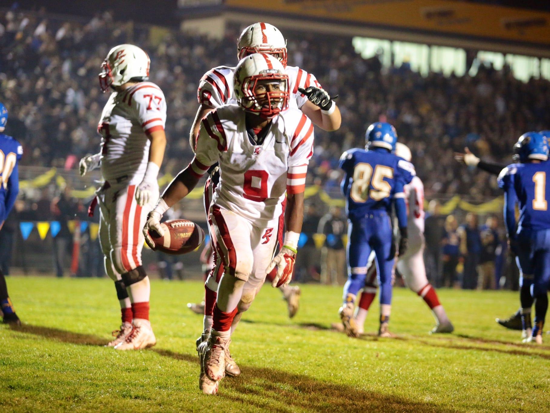 The Palm Springs High School football team has that championship glow again.