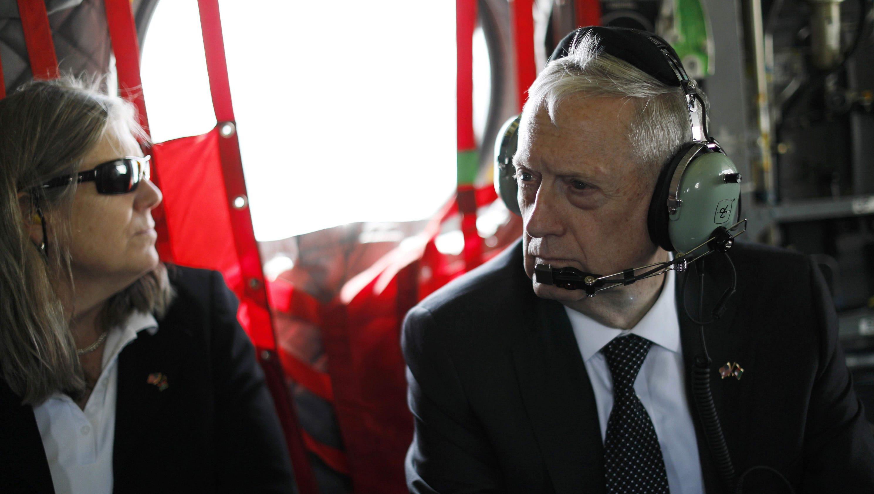 Mattis: U.S., NATO must confront Russia on Taliban after major attack