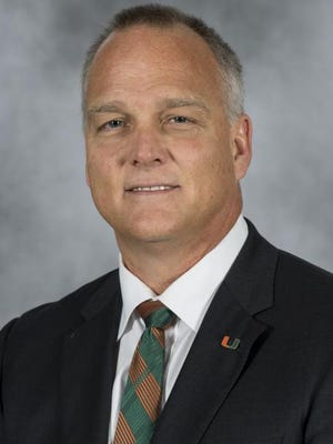New Miami football coach Mark Richt will be in Southwest Florida May 14.