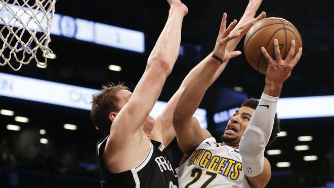 Denver's guard Jamal Murray is one of three Nuggets who could have made the NBA All-Star game.