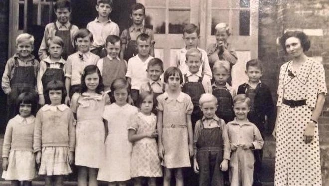 Oakland 12 Mile School's Class of 1935 are among photos Wilder resident Steve Scott already has of the former Camp Springs area school closed in 1938.