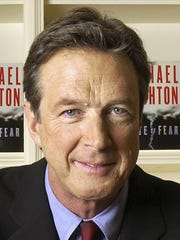 The late Michael Crichton in New York on Nov. 4, 2008.