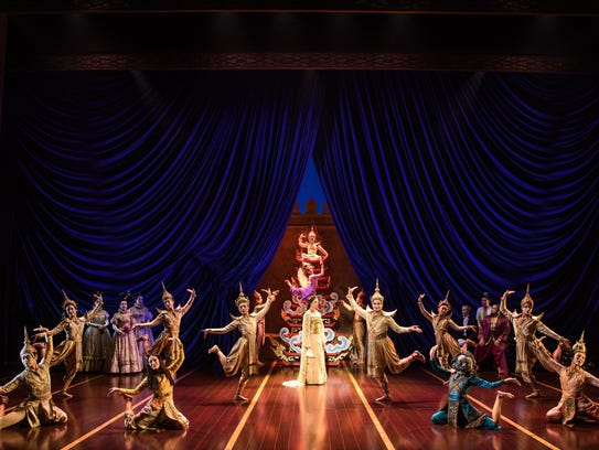 """The cast of Rodgers and Hammerstein's """"The King and"""
