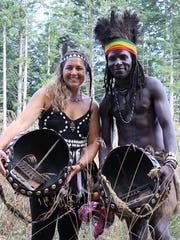 Mbira Spirit, the musical duo of Amy Matamba from Vancouver Island and Tafadzwa Matamba from Zimbabwe, is one of the featured acts of Zimfest 2015.