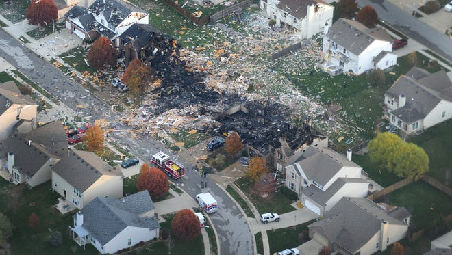 The Nov. 10, 2012, explosion on Indianapolis' south side destroyed a handful of homes and damaged more than 80.