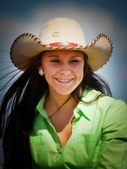 Sartell barrel racer Erica Traut is competing in the National High School Finals Rodeo in Rock Springs, Wyo., this week.