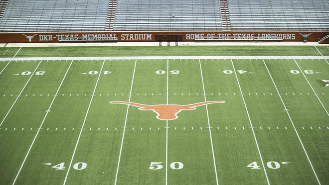 Shh. Can you hear it? The 2020 college football season is right around the corner. And with it comes a whole bunch of questions and unknowns, the biggest of which: Will the season really be played? Royal-Memorial Stadium is scheduled to host Texas' season opener against South Florida on Sept. 5.