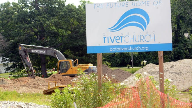 Quinebaug River Church members hope to build a community splash pad next to their church at 32 School St. in Jewett City. The church building is currently being built.