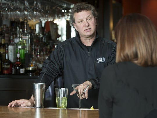 "Scott Brady chats with IndyStar beverage reporter Amy Haneline for her monthly ""Drinks With"" column."