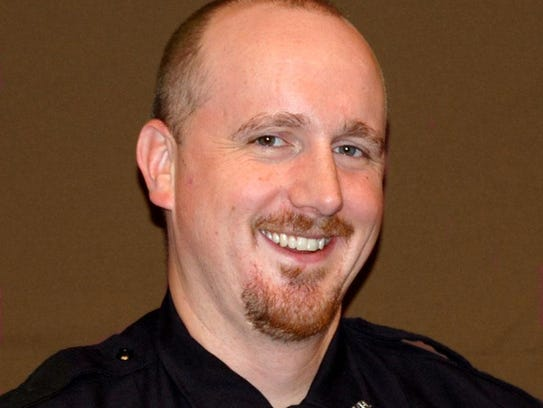 Lt. Nathan Pekarske is the Administrative Lieutenant