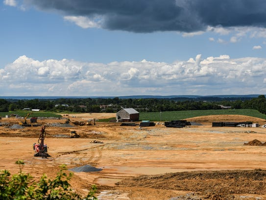 Construction moves forward with the North Cornwall