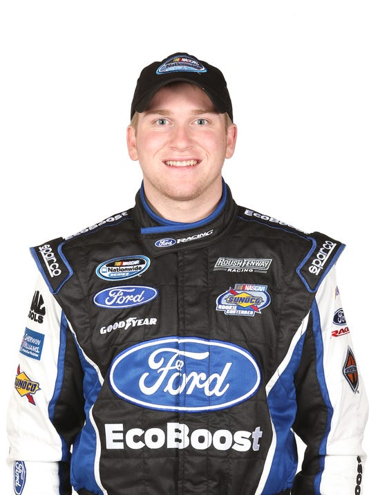 Chris Buescher mug shot