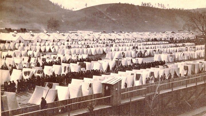 20 facts about Elmira's Civil War prison camp