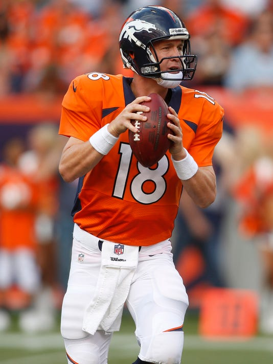 huge discount b4ff5 883a8 Bell: Peyton Manning, Broncos will have finishing kick