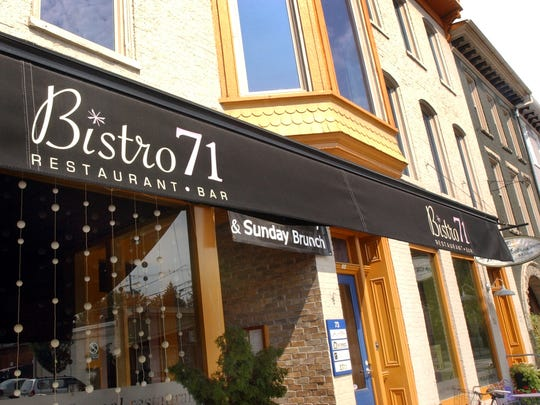 Bistro 71 in Chambersburg is known for its great service and great food, according to one reviewer.