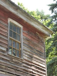 The Lutze Housebarn in rural Manitowoc County