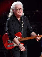 Ricky Skaggs performs at the 2018 CMA Music Fest Sunday,