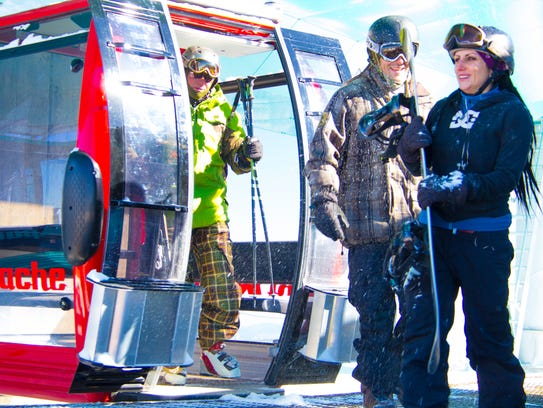Ski Apache in Mescalero, New Mexico.