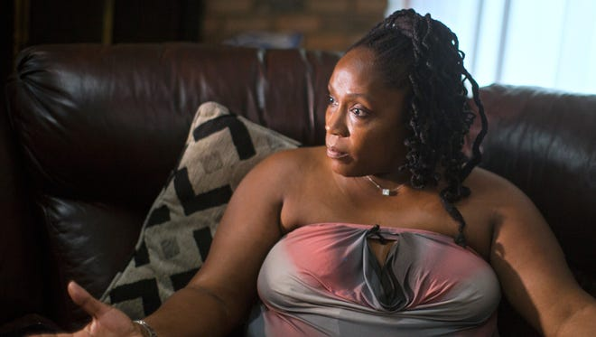DaShonda Reid of Springdale, Ohio, talks about her longtime boyfriend Samuel DuBose, 43, who fatally shot July 19 during a routine traffic stop.