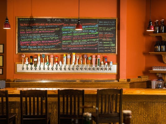 Casual Pint Bar Area