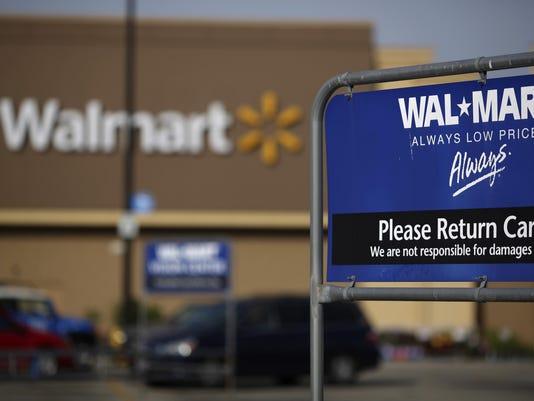 BLM WALMART EARNS A FIN USA KY