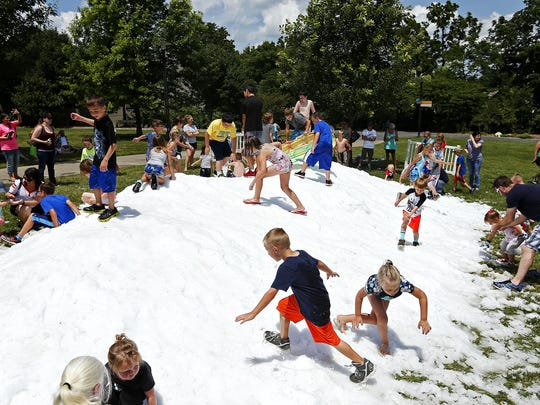 Mountains of snow have been promised at the annual SnowFest on Saturday.