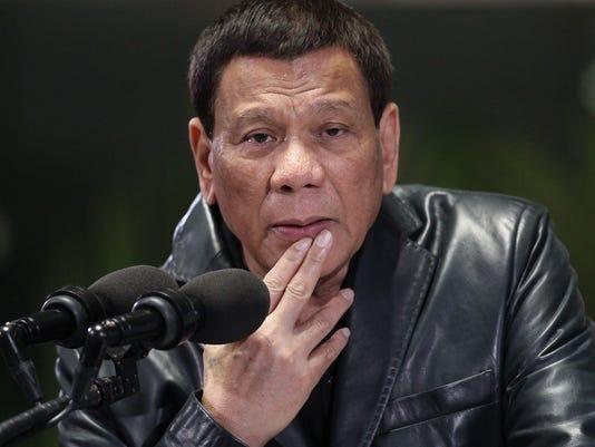 PHILIPPINES-POLITICS-DUTERTE