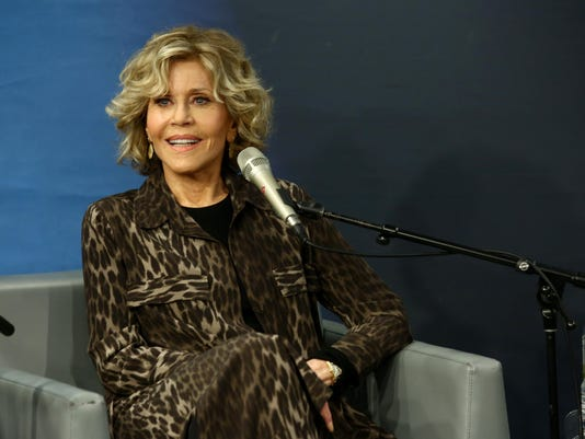 SiriusXM's Hoda Kotb Interviews Oscar Winner Jane Fonda And Director Susan Lacy During A Town Hall Event In New York