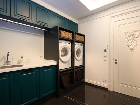 Laundry Room at the Modern Home