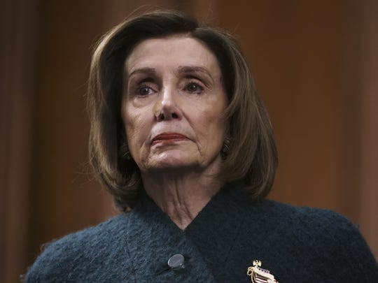 Speaker of the House Nancy Pelosi, D-Calif., attends a health care event at the Capitol in Washington, Wednesday, Dec. 11, 2019. (AP Photo/J. Scott Applewhite)