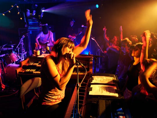 Grace Potter and the Nocturnals perform at Nectar's in 2007.