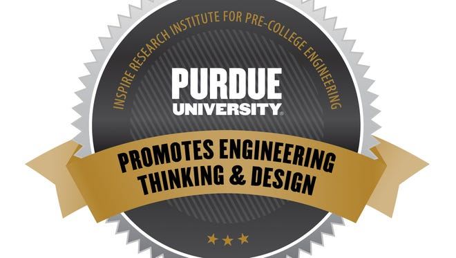 Purdue's emblem for INSPIRE gifts