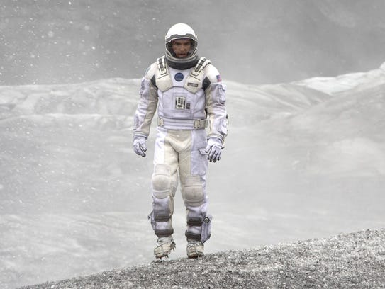 "Matthew McConaughey stars in ""Interstellar"" from Paramount"