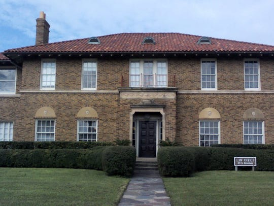 The Richard and Minerva King house at 611 S. Upper